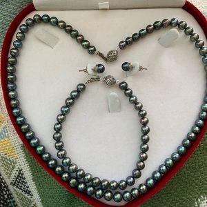 Jewelry - Black Pearl Set
